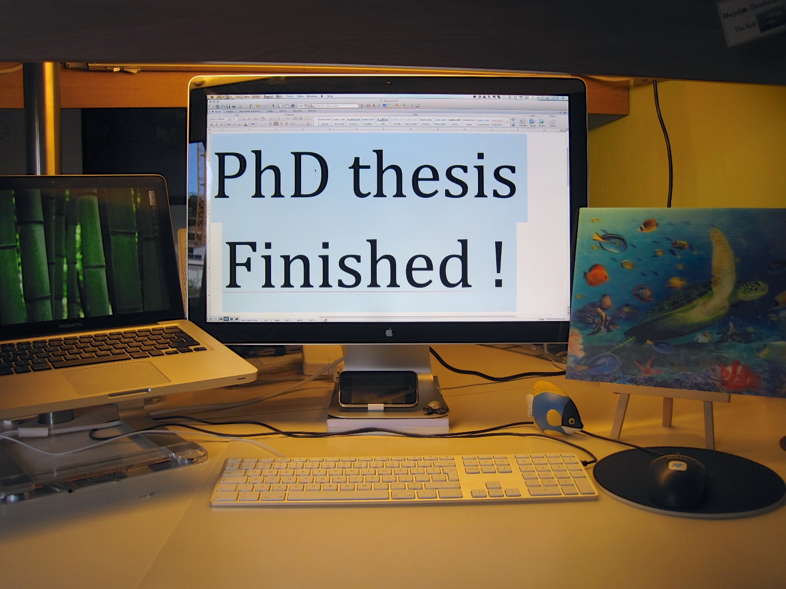 Thesis only phd